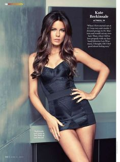 Kate Beckinsale has the hottest clothes, sexiest body & best hair!