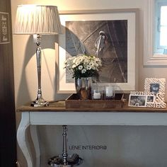 Riviera maison console table.