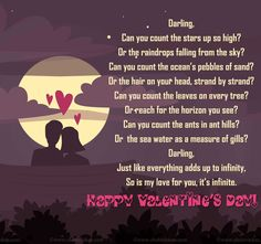valentines day poems girl to boy