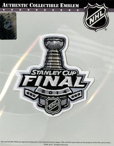 2014 Stanley Cup Final Logo Patch