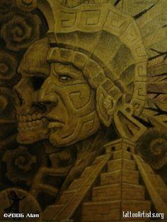 Aztec art