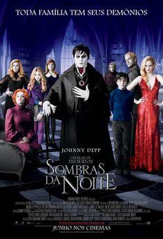 """Com Johnny Depp """"Sombras da Noite"""" estreia nesta sexta (22)"""