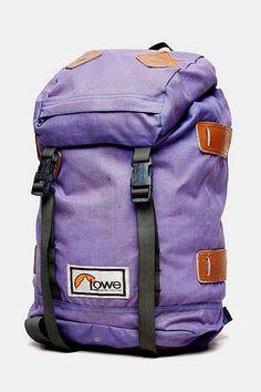 Vintage Lowe Purple Alpine Backpack - Urban Outfitters