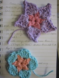 Ravelry: Two Flowers pattern by Holly Duxbury