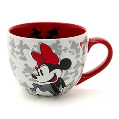 Mickey and Minnie Mouse Valentine's Mug