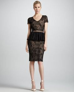 Women's Zac Posen Short-Sleeve Lace...     $2,990.00