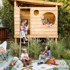 An outdoor play space is the warm-weather antidote to a messy house. Here's how one Southern California family created a modern, kid-friendly retreat in their backyard