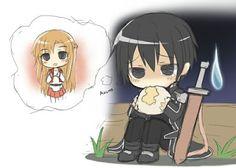 O Kirito é a coisa mais fofa no mundo inteiro❤️
