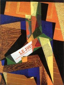 Glass and Newspaper - Juan Gris - The Athenaeum