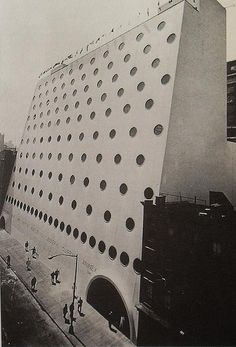 1966 National Maritime Building West Side Manhattan NYC vintage NEW YORK CITY PHOTO