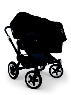Bugaboo Donkey Duo All Black #converttoblack