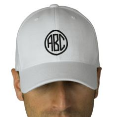 Create Your Own Monogram Text Baseball Cap. Design your own baseball cap on Zazzle! Our design tool allows you to upload & add your own artwork, design, or pictures to make a one of a kind baseball cap. Add text using great fonts and preview your design. This easy to customize baseball cap has no minimum order and is custom made when you place an order.