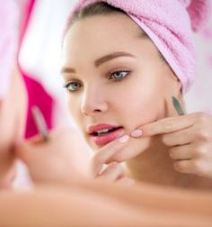 Eliminate Your Acne Tips-Remedies - How to Get Rid of Acne and Blackheads in Just 7 Days? Free Presentation Reveals 1 Unusual Tip to Eliminate Your Acne Forever and Gain Beautiful Clear Skin In Days - Guaranteed! Deep Pimple, Blind Pimple, Pimple Face, How To Get Rid Of Pimples, Get Rid Of Blackheads, Painful Pimple, Pimples Overnight, Oriflame Cosmetics, Homemade Face Masks