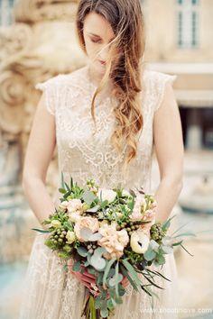 Manon Pascual wedding dress French bridal inspiration 1