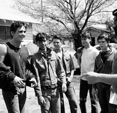 The Outsiders ( The Outsiders Sodapop, The Outsiders Cast, The Outsiders Imagines, 80s Movies, Iconic Movies, Good Movies, I Movie, Young Matt Dillon, Dallas Winston