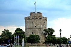 Λευκός Πύργος - Ελληνικά Κάστρα - Greek castles Pisa, Greece, Tower, Building, Travel, Viajes, Lathe, Buildings, Towers