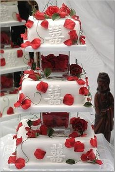 Follow #Professionalimage #EventPhotography – for Rates, Info & Availability ~ Chinese Wedding Cake