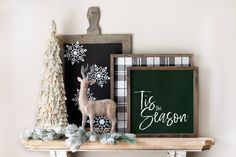 Tis The Season / Christmas Printable Wall Art / Christmas Watercolor Decor Prints / Instant Download / 4x4 5x5 8x8 12x12 by LidtkaPrintCompany on Etsy Rudolph Christmas, Christmas Wall Art, Modern Christmas, Christmas Home, World Mother's Day, Paper Frames, Christmas Printables, Tis The Season, Printable Wall Art