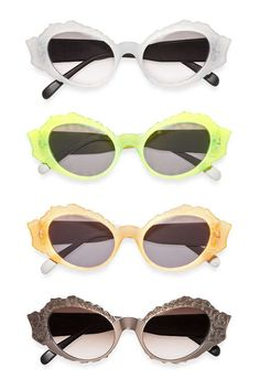 Marni's Winter 2012 Eyewear Collection Features Retro Flair #sunglasses trendhunter.com