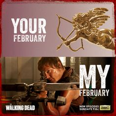 Screw Valentines I've got Norman Reedus and The Walking Dead!!