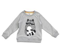 Filemon Kid Racoon Sweater | Scandinavian Minimall