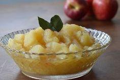 De fácil preparo, o purê de maçãs é o acompanhamento ideal para a carne de porco.