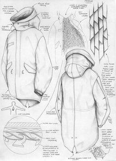 Fashion Design Drawings, Fashion Sketches, Fashion Illustration Techniques, Flat Drawings, Technical Drawings, Fashion Design Template, Fashion Templates, Diy Design, 2 Kind