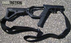 ar 15 attachments  | ENDO Tactical Glock AR-15 Stock Adapter - The Firearm Blog