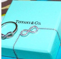 <3 love infinity jewelry from Tiffany and Co.