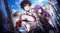 Anime Toon, Manga Anime, Anime Art, Anime Couples Manga, Cute Anime Couples, Anime Boy Sketch, Anime Watch, Satsuriku No Tenshi, Anime Weapons