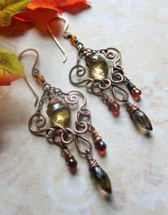Market Spice Earrings 2013 by SihayaDesigns on Etsy