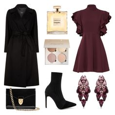 """""""Romantic winter date"""" by nikita-waxcin on Polyvore featuring Raye, Cinq à Sept, Ellen Conde, Weekend Max Mara and Aspinal of London"""
