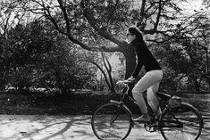 Fotos antiguas de bicicletas: Jaqueline Kennedy
