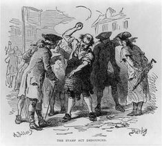 Stamp Act Protest In The Port City 1765 Wilmington NC Image