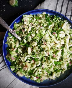 Brussel Sprout Salad Bowl Crop - Weeks 2 & 3