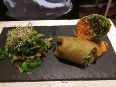 RAW FOOD, NOTTING HILL | NAMA Raw Food Restaurant | Super healthy, soooo tasty and amazingly well presented #recommended