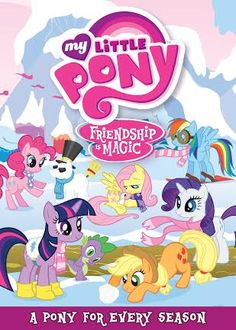 MLP Friendship is Magic: A Pony For Every Season DVD US/CAN 12/11