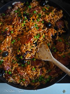 Portuguese Fried Rice @ Not Quite Nigella Portuguese Rice, Portuguese Recipes, Rice Recipes, Beef Recipes, Cooking Recipes, Pasta Recipes, Yummy Recipes, Yummy Food, Savory Rice