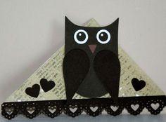 owl corner bookmark