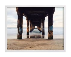 """""""Shoot the Pier"""" - Art Print by Christian Florin in beautiful frame options and a variety of sizes."""