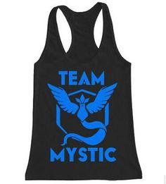 Mystic Team Pokemon Go Ketchum Trainer Tank Top