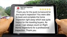 Right Home Inspections St. Cloud Perfect 5 Star Review by Debbie D.