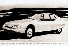 OG | c1975 Citroën SM on CX underbody |Heuliez study
