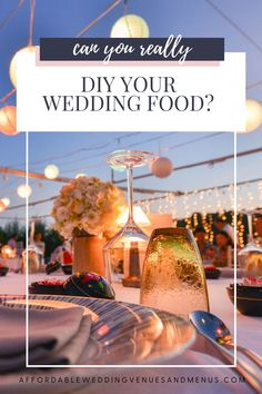 If you've got a small wedding budget, you can save a ton of money if you diy. Find out how to plan a diy wedding food buffet, find diy wedding food ideas, diy wedding appetizers, and diy wedding food stations. Save even more with a diy wedding bar. Find out how to plan diy wedding drinks, set up a diy wedding drinks table, and more diy wedding bar ideas. End your reception with an easy diy wedding cake. Wedding Drink Table, Diy Wedding Bar, Elegant Backyard Wedding, Wedding Buffet Food, Food Truck Wedding, Food Buffet, Wedding Reception Food, Wedding Catering, Summer Wedding