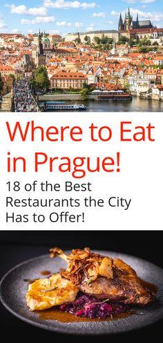 czech food Best Restaurants in Prague - Looking for amazing food in Prague? Some of the best traditional Czech food, Vietnamese, Italian, Vegan restaurants in Prague! Restaurant Prague, Prague Restaurants, Vegan Restaurants, European Travel, Travel Europe, Prague Guide, Prague Food, Beste Burger, Visit Prague