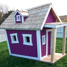 Kids crooked playhouse plans Custom design your own unique children s playhouses from Kids Crooked House and create your dream playhouse Playhouse Kits, Build A Playhouse, Playhouse Outdoor, Childrens Playhouse, Pink Playhouse, Outdoor Toys, Cubby Houses, Dog Houses, Play Houses