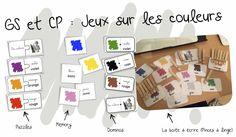 Les couleurs : Jeux de lecture - Bout de gomme