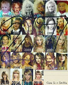 Happy 27th Birthday Taylor Swift my Queen.  Edit by Chloe Is a Swiftie.  Credits to whoever made the first 4 rows of this.  I just want you to know Taylor that I will forever love and support you no matter what.  You have gotten me through the worst of times and I thank you for that.  Happy Birthday from: Chloe