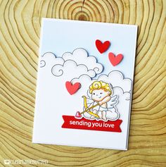 Clearly Besotted Stamps Call Cupid   Clearly Besotted Stamps