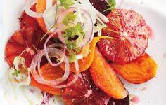 Ensalada de naranja roja, remolacha e hinojo | 27 deliciosas recetas paleo para disfrutar este año